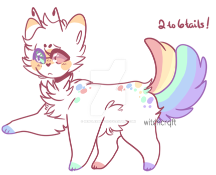 Feline alien adopt | Closed by oOMoonriver-adoptsOo