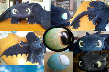 Toothless Plush #5: Pushing the Limit by Super3dcow