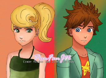 Cindy and Jimmy by PamFanJN