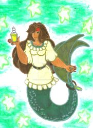 thewhiteshark's Gypsy Mermaid for MerMay by Winter-Colorful