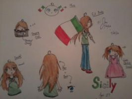 [2/14/13 - 2/15/13] Drawing of Sicily by LuckyJiku