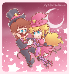 .~The sweetness of the stars~. by ThePinkMarioPrincess