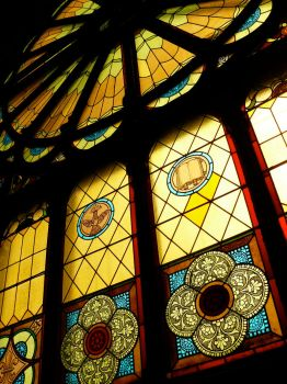 Stained glass window by 07oogenesis