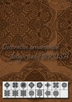 Decorative ornamental motif by designersbrush