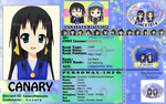 CNSY ID: Canary by RJAce1014