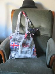 My London tote bag by AloiInTheSky