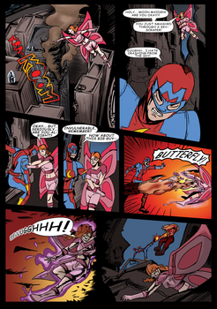 Butterfly, Fly By page 6 by Spikeprime