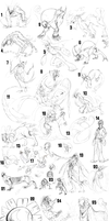 Titanical Sketch Dump 2010 by ColmilloSombra