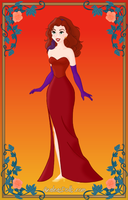 Aileen as Jessica Rabbit by Chumley12