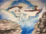 Flying Wolf Amatao by xXBlackwolfangelXx