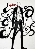 Slender Man by uxxen