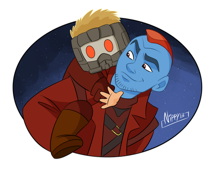 Guardians of the galaxy by Nippy13