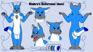 Umbra's reference sheet! (Request) by Eveleencat