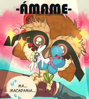 PG: Amame o muere [Inicial tipo fuego] by HikaruMcDonut