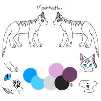 Moonfeather Ref (Gift) by Aquivi