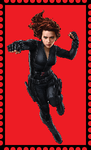 Black Widow Stamp. by WOLFBLADE111