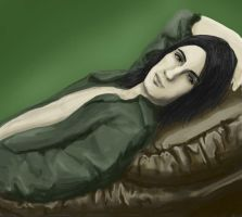 Snape on the sofa by vimessy