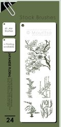 Brush Pack - Japanese Floral by iMouritsa
