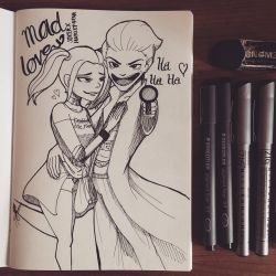 Mad Love by samarasketch