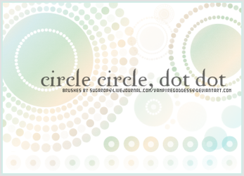 Circle Circle, Dot Dot by VampyreGoddess