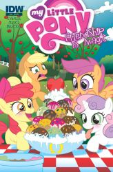 My Little Pony issue 32 RI cover July 2015 by MaryBellamy