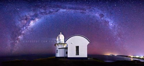 Lighthouse Nebulae by CainPascoe