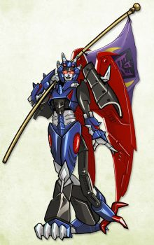 Esmeral from Transformers Victory by RID-NightViper