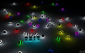 2013 Glowing Balls by SSxArt
