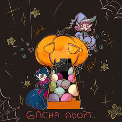 Gacha Adopt { O P E N } ONLY POINTS by ErrorK606