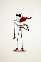 Tim Burton's Papyrus by DarkCartoon122