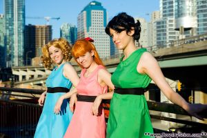 The Powerpuff Girls by The-Cosplay-Scion