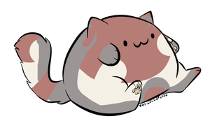 [Mystery] Very Round Cat [shinepaw101] by coyd0g