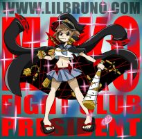 MAKO FIGHT CLUB PRESIDENT by LilBruno
