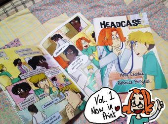 Headcase Chapter One in Print!!! by FiaFreckles