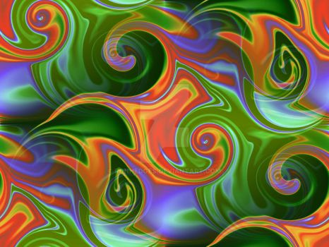 Tropical Swirls by ronhedges