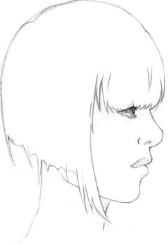 Profile Sketch by DisappearNote