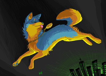Rin speed paint gift by Lost-Mutt