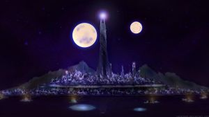 The Mighty Spires of Atlantis by KaneNash