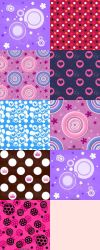 Polka Dot Pattern Set by kvaughnp3