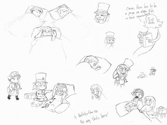 A Hat in time: Sketches 13 by Natalya-Chan