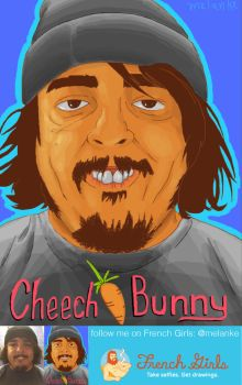 Cheech Bunny- by melanke