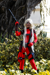 Lady Dead Pool Cosplay by icecharizardcosplay