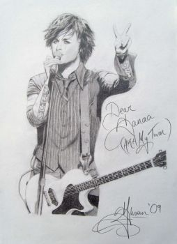 Billie Joe Armstrong 2 by sansanana