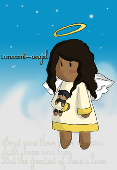 Angel and Amber by innocent--angel