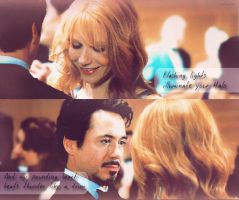 Tony and Pepper by Asharo