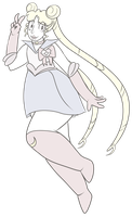 FA:: Sailor Gems - Sailor Crystal Quartz by drazzi