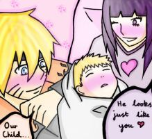 NaruHina - Our Baby by TDWStalker