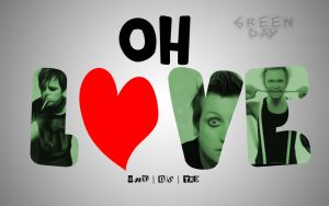 Green Day / Oh Love Uno Dos Tre  Wallpaper by PiroRM