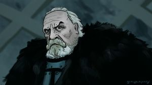 Jeor Mormont by mirrors519