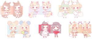 Adoptables 221017 (sold out) by ichiipon